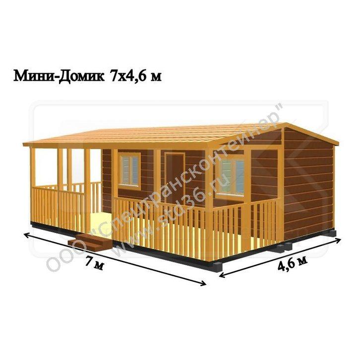 Модульный дом МД-11