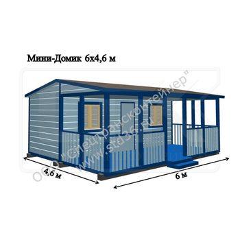 Модульный дом МД-07 6000*4800